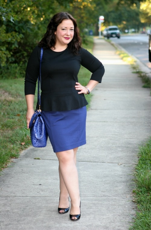 Wednesday: Power Peplum