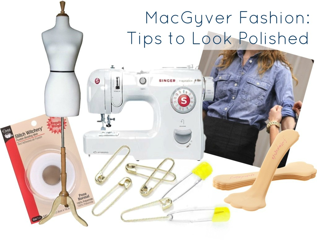 macgyver fashion tips to look polished