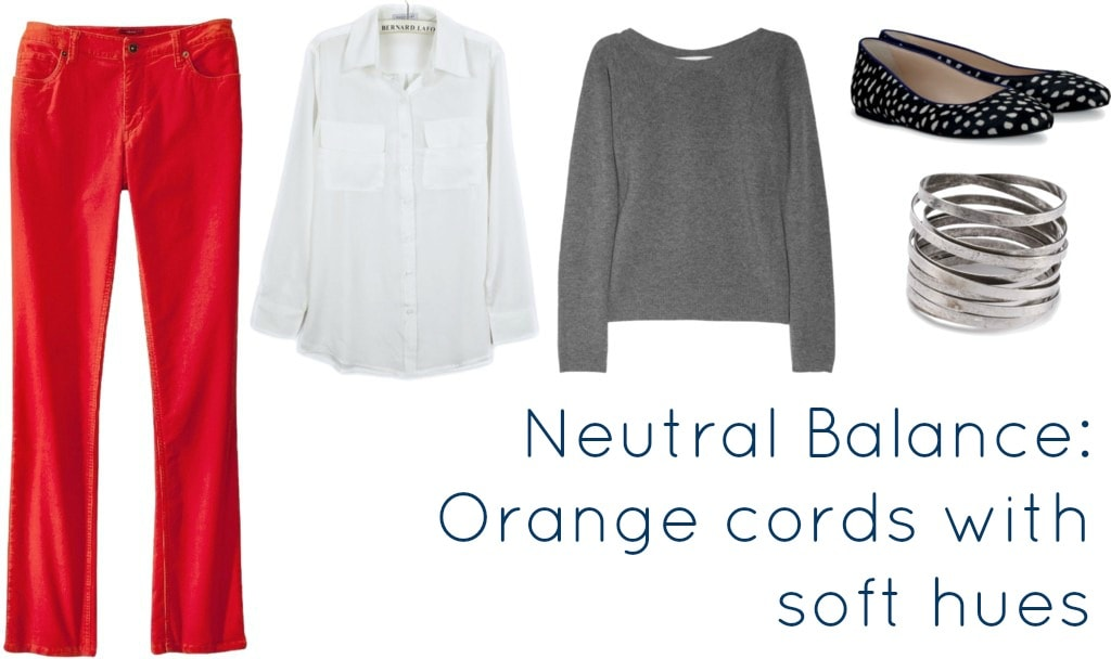 orange cords with neutrals