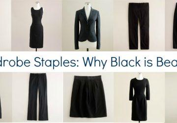 Wardrobe Staples: Why I Promote Black