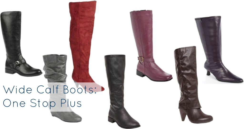 wide calf boots one stop plus