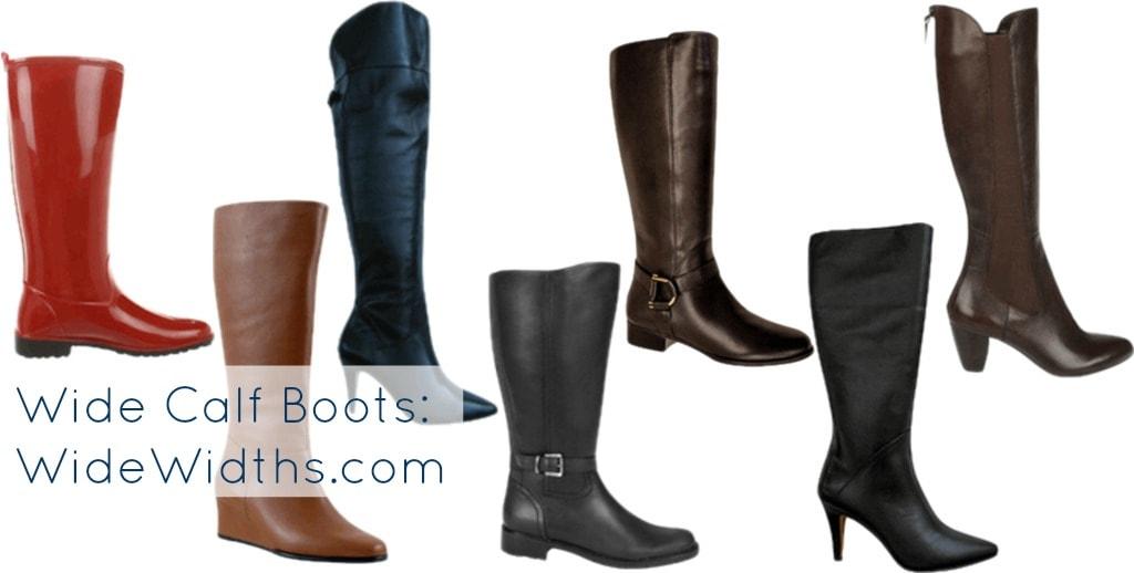 wide calf boots widewidths