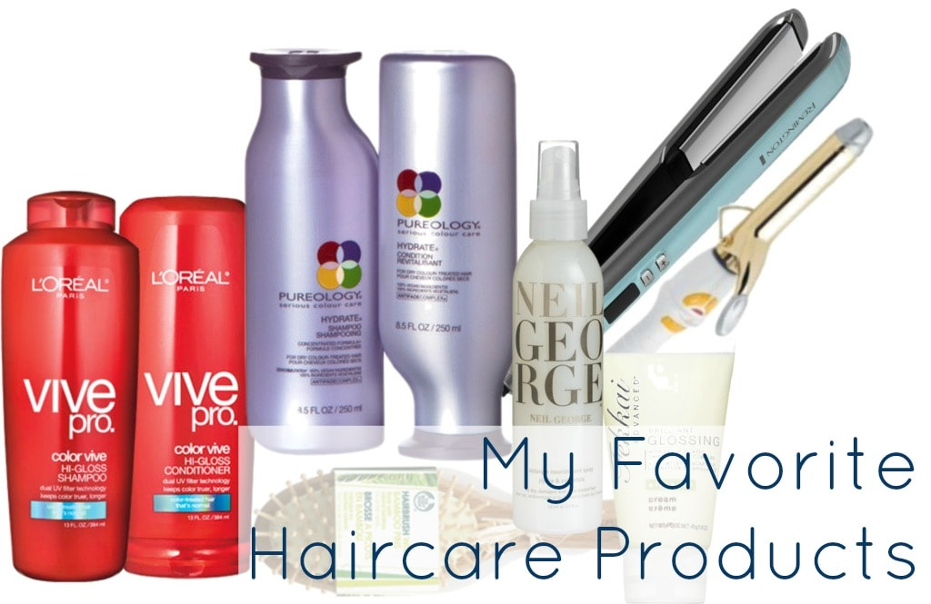 favorite haircare products