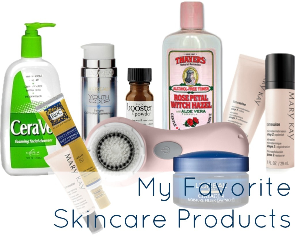 favorite skincare beauty products