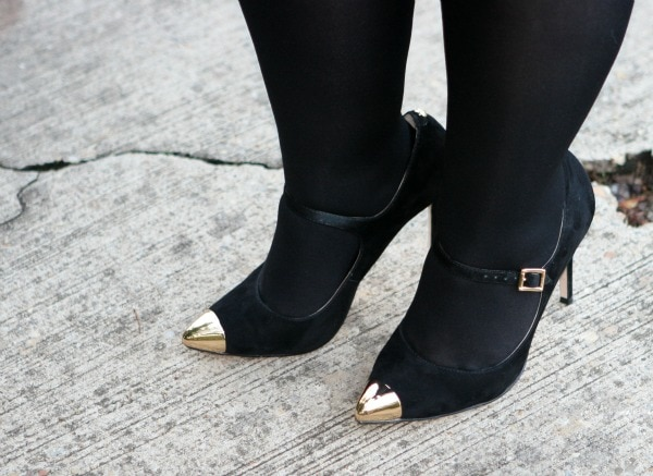 gold cap mary janes vince camuto