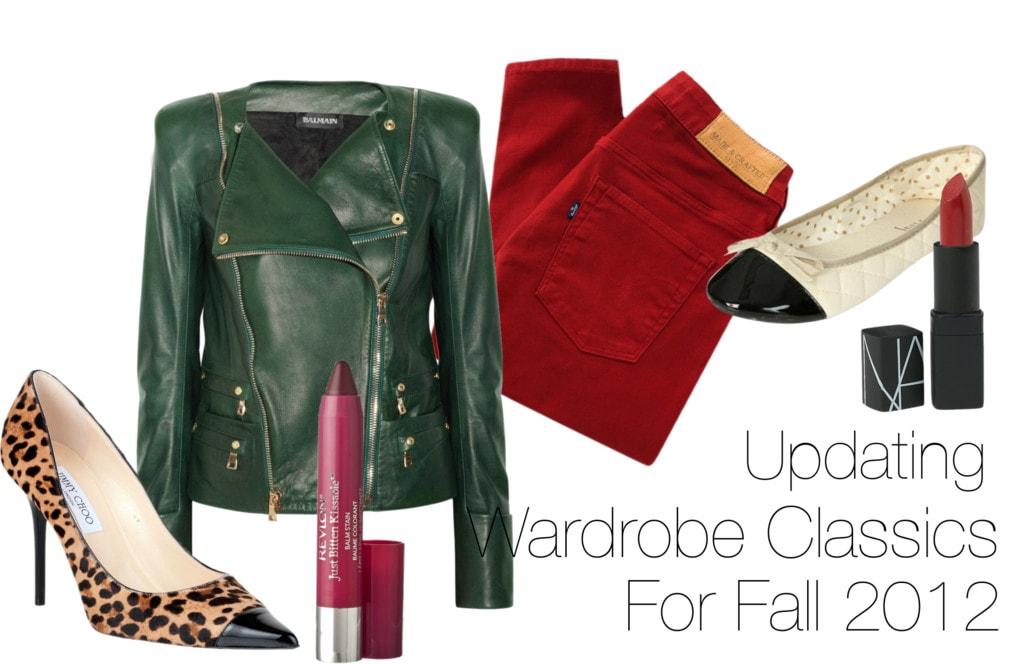updating wardrobe classics fall 2012