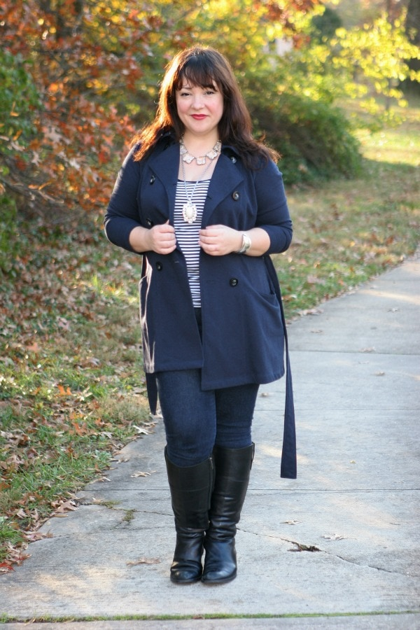 cabi all day trench