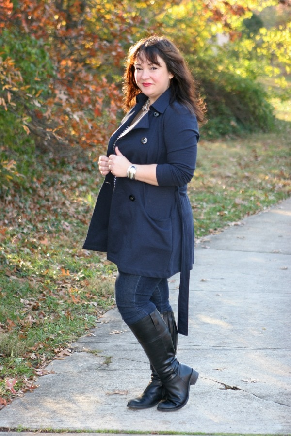 cabi ponte all day trench