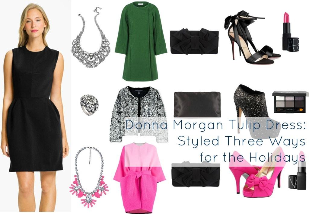 donna morgan tulip dress