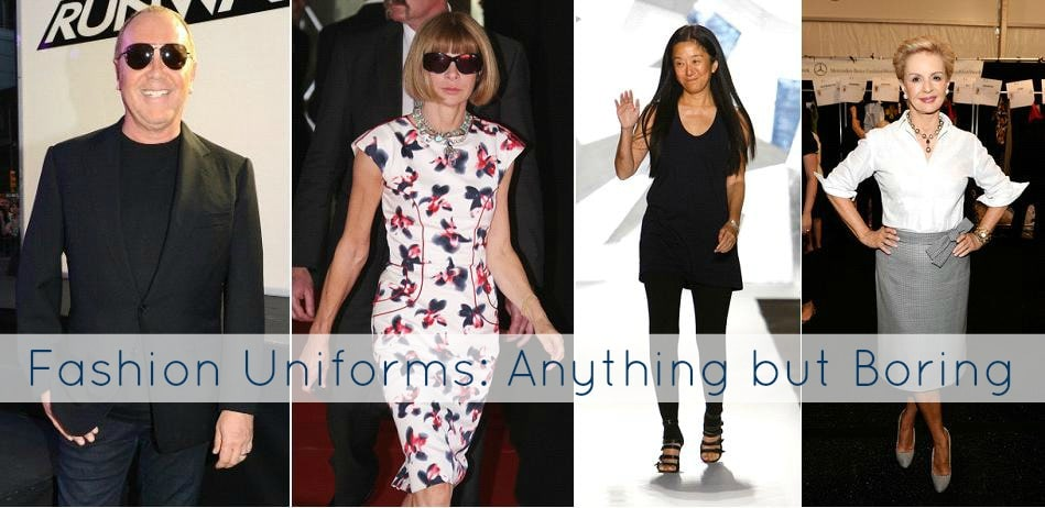 fashion uniform boring