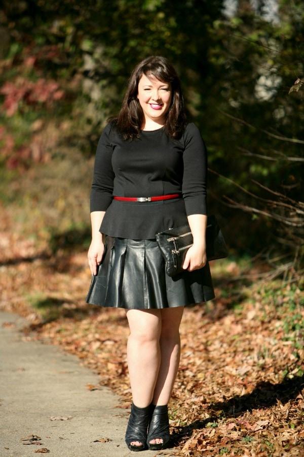 size 12 fashion blogger