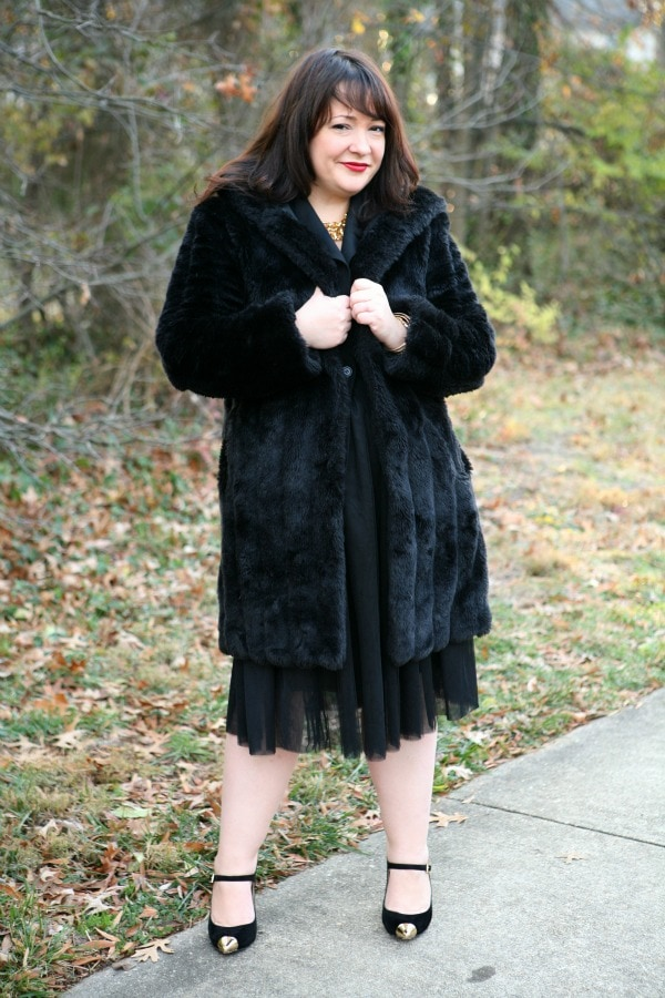 vintage vaux fur