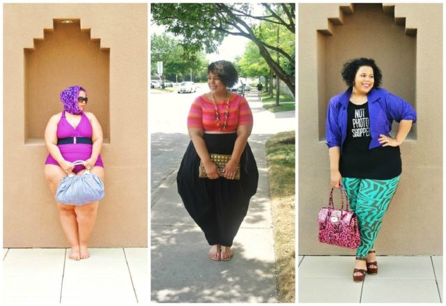 The Curvy Fashionista Blog She reminds me that fashion