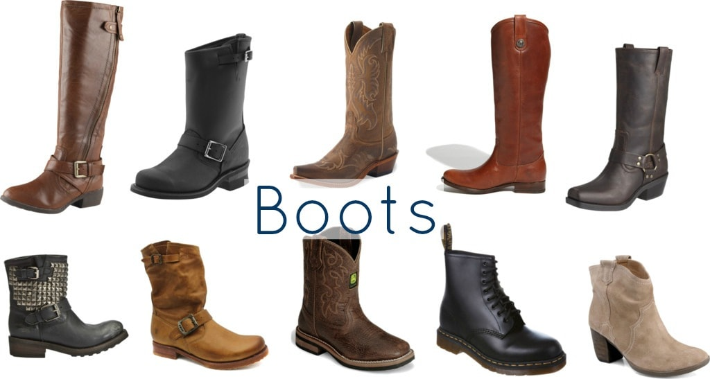 casual shoes boots how to style