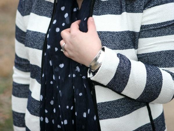gap striped jacket