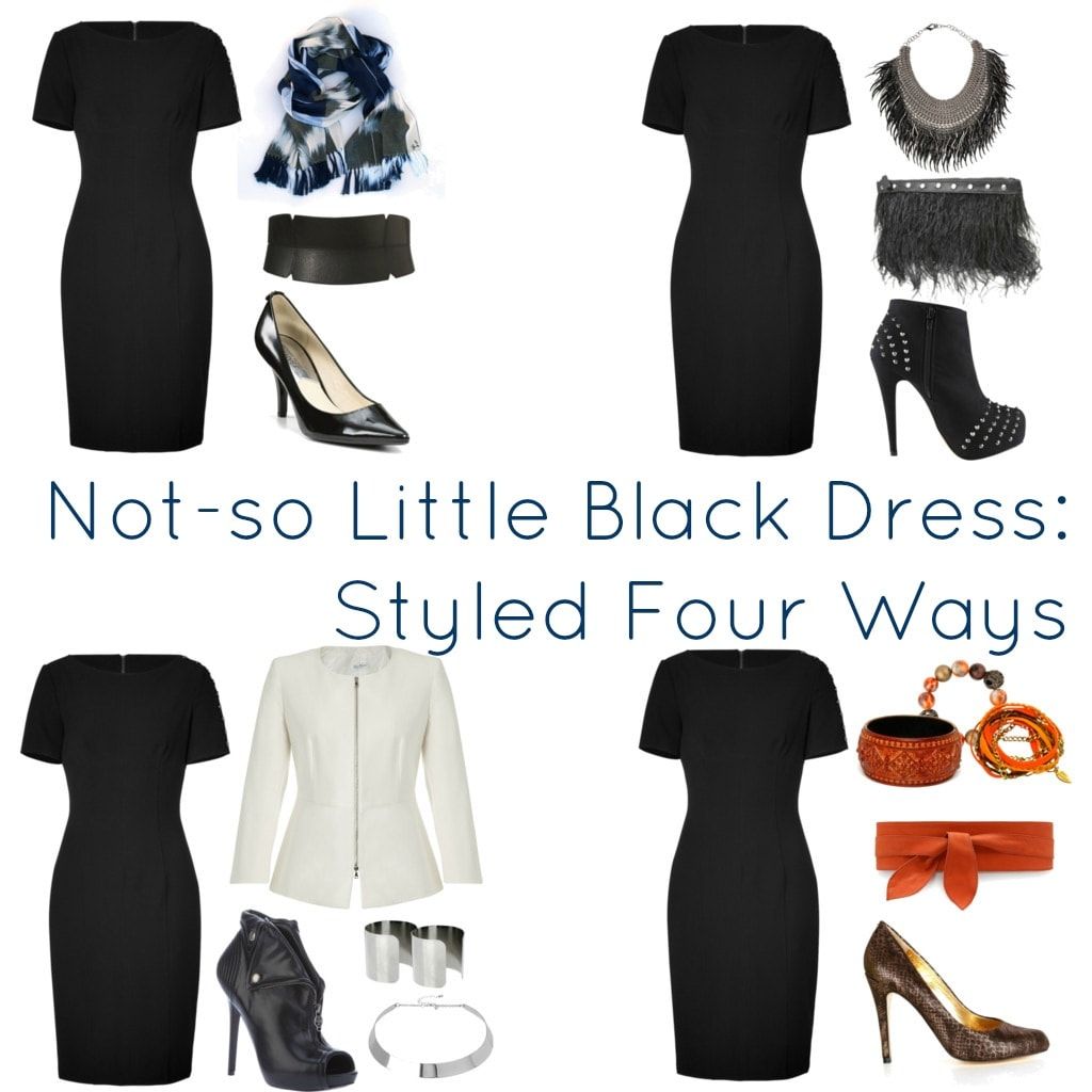 Ways to wear a black dress