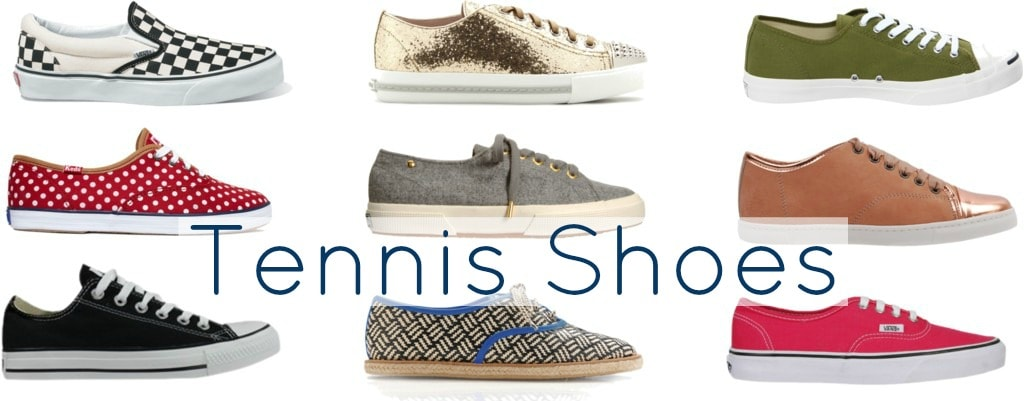how to style tennis shoes