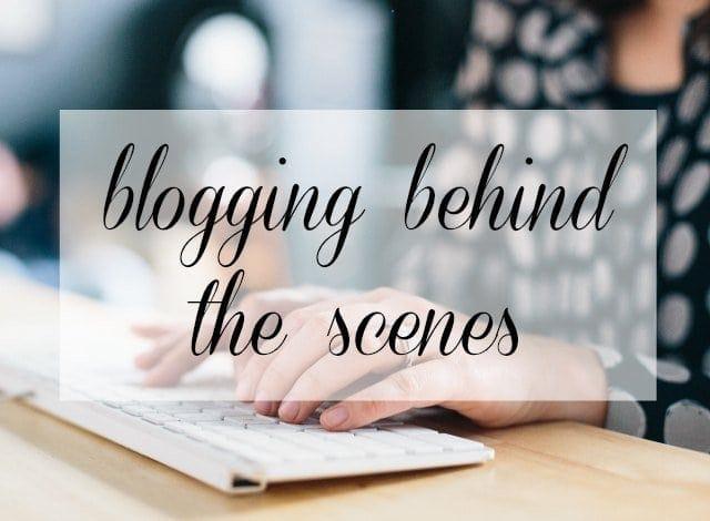 fashion blogging behind the scenes