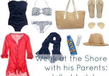 Ask Allie: Week at the Shore with his Parents