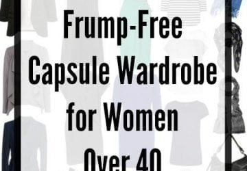 Capsule Wardrobe: No Fashion Victim, No Frump for Women Over 40