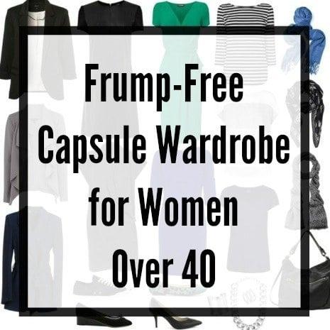 capsule wardrobe over 40