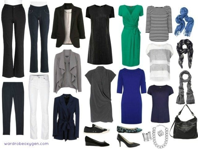 Capsule Wardrobe over 50 style featured by popular Washington DC curvy fashion blogger, Wardrobe Oxygen