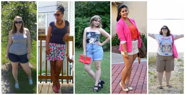 curvy women shorts 2