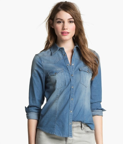 two by vince camuto western shirt