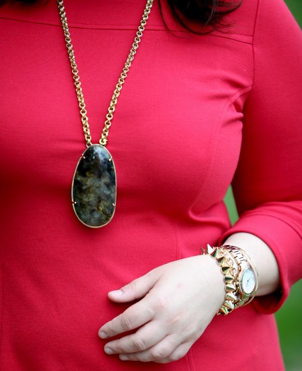 stella dot leona pendant