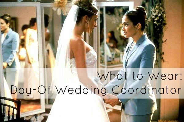 Ask Allie What to Wear as a Wedding Coordinator Wardrobe Oxygen