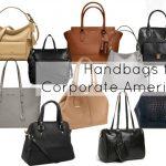 Ask Allie: Handbags for Corporate America