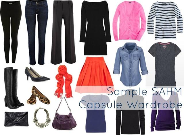SAHM Capsule Wardrobe