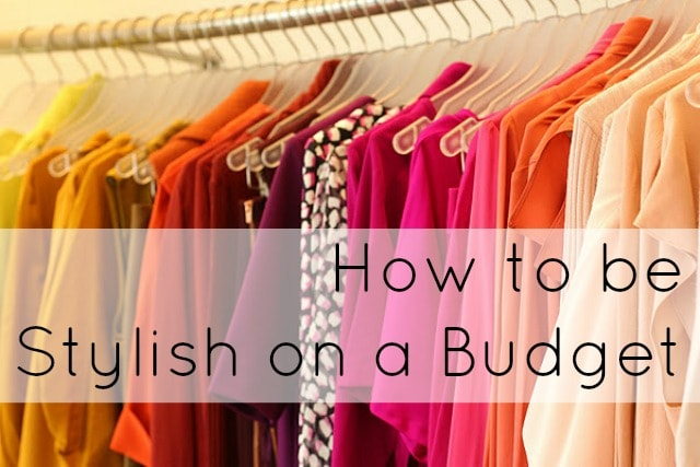 how to build a stylish wardrobe on a budget