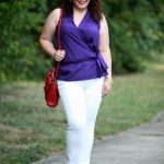 What I Wore: Purple and Primaries