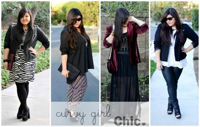 curvy girl chic