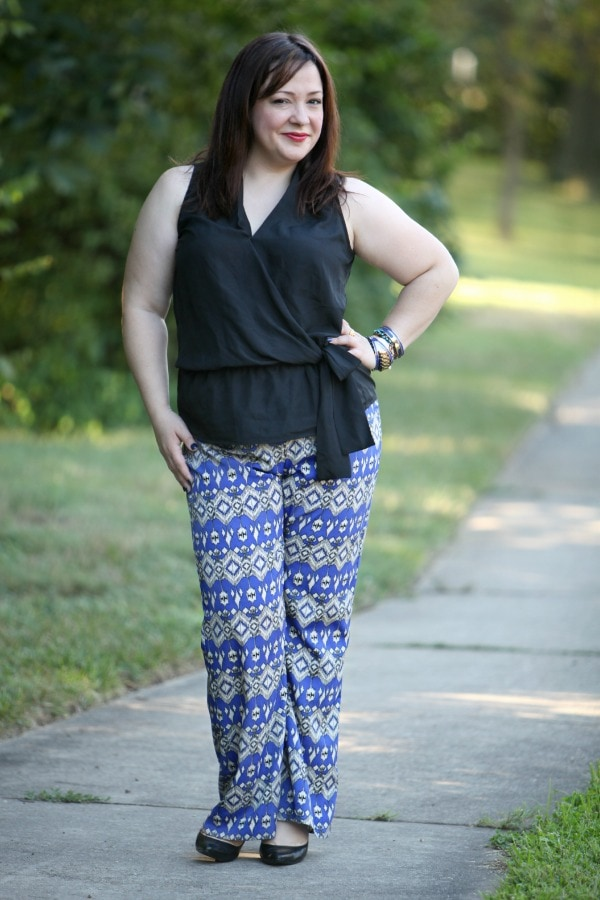 outfit fashion blogger over 35 size 14 12
