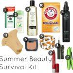 Summer Beauty Survival Kit