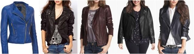 womens leather biker jackets
