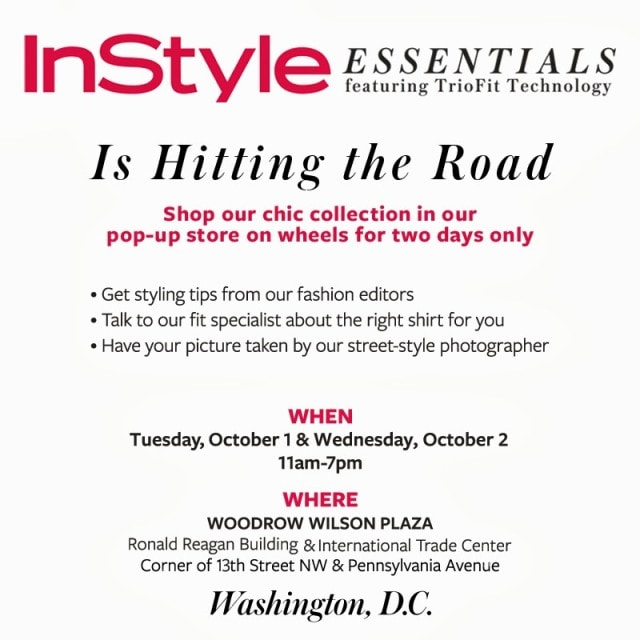 InStyle Essentials DC Pop Up Shop 2013