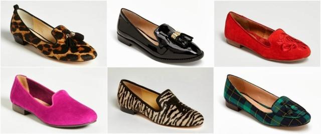 Smoking Slipper Fashion Trend How to Wear 2013