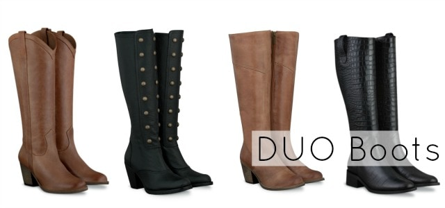 duo boots wide calf shipping USA review
