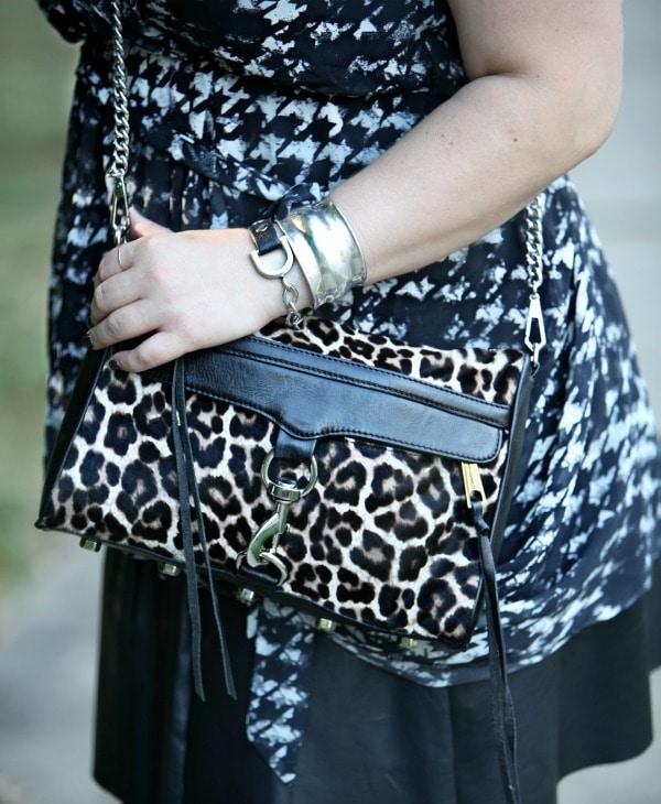 rebecca minkoff mini MAC leopard