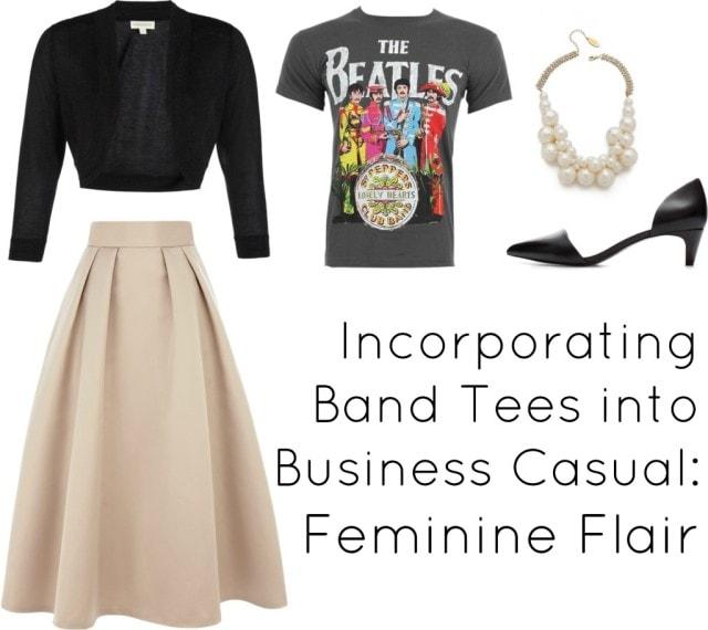 rock tee office dress code business casual