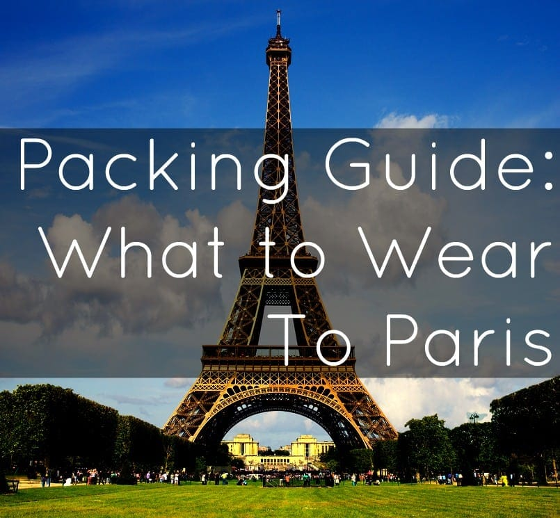packing paris what to wear capsule wardrobe carryon