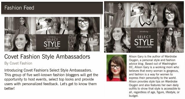 covet fashion style ambassador