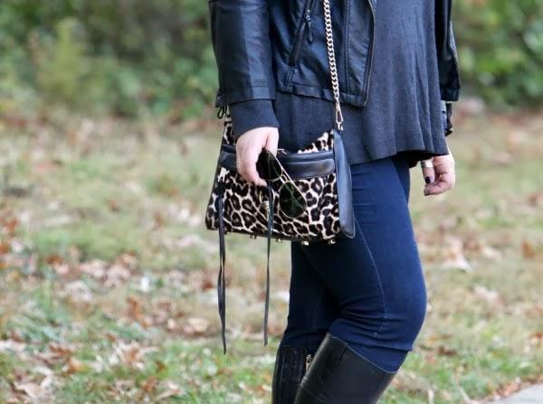 rebecca minkoff pony hair leopard