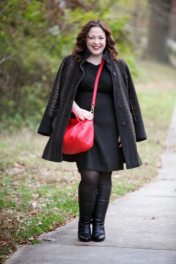 size 14 over 35 blogger fashion style