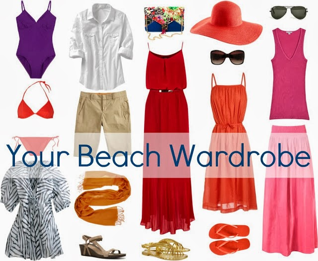 beach vacation wardrobe
