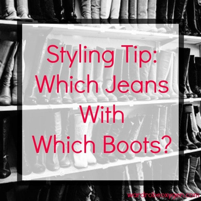how to style jeans boots which wear - Jeans with Boots - Which Jeans with Which Boots featured by popular Washington DC fashion blogger, Wardrobe Oxygen