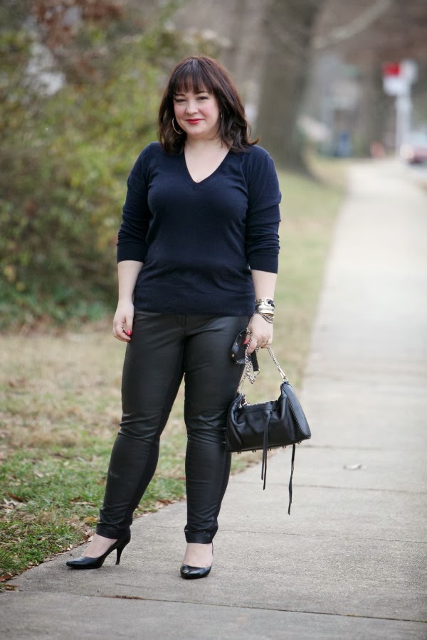 What I Wore: Black and Blue - Wardrobe Oxygen